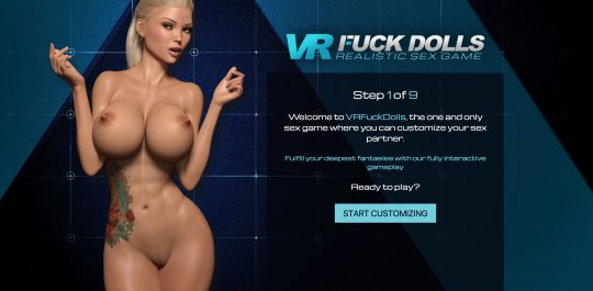 Vr fuck dolls realistic sex game